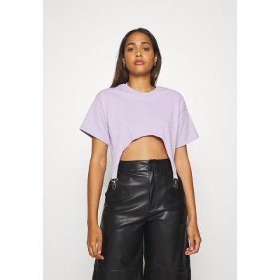 ザラグドプリースト Tシャツ レディース トップス TEE WITH TRIGGERS - Basic T-shirt - lilac