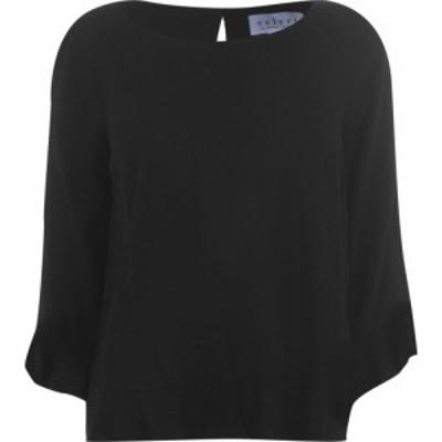 ベルベット グラハムandスペンサー Velvet レディース Tシャツ トップス Verm T Shirt Black