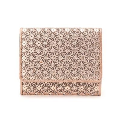 HIROKO HAYASHI(ヒロコ ハヤシ) GIRASOLE(ジラソーレ) 薄型ミニ財布