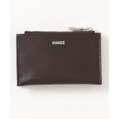 KINGZ / スムースレザー 小銭入付カードケース MEN 財布/小物 > パスケース