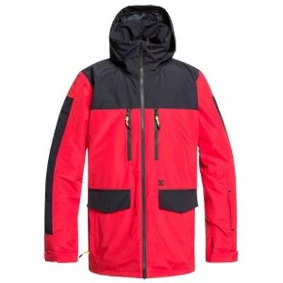 ディーシー メンズ ジャケット・ブルゾン アウター DC Company Jacket Racing Red