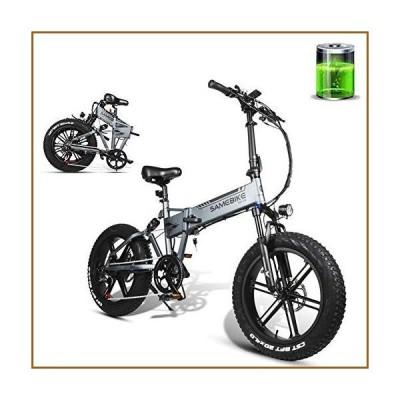 並行輸入品CHJ Electric Bicycle 20-Inch Folding Electric Mountain Bike 500W Motor 48V 10AH Lithium Battery, Top Speed: 35Km/H, Pure Elec