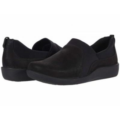 Clarks クラークス レディース 女性用 シューズ 靴 スニーカー 運動靴 Sillian Bliss Black Synthetic【送料無料】