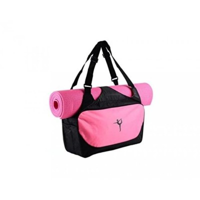 趣味 ヨガ マットバッグ iEase Yoga Bag for Mat and Blocks Multifunctional Yoga Mat Tote Bags Lightweight Durable Gym Bag Sports Bag Pilates Yoga