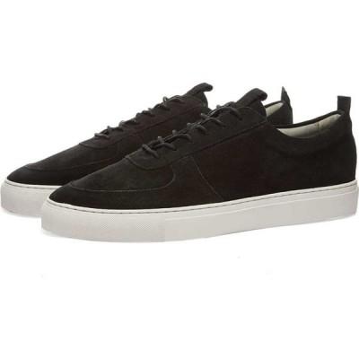 グレンソン Grenson メンズ スニーカー シューズ・靴 Sneaker 22 Black Suede