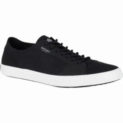 スペリー ウォーターシューズ Flex LTT Deck Shoe Black Microfiber/Suede