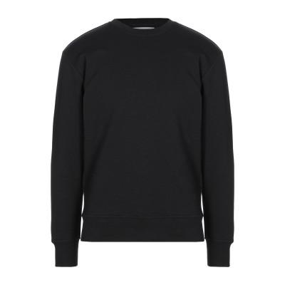 デパートメント 5 DEPARTMENT 5 スウェットシャツ ブラック S コットン 100% スウェットシャツ