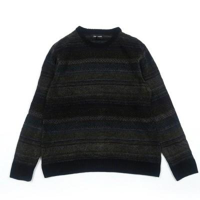 古着 pierre cardin デザインニット セーター サイズ表記:M