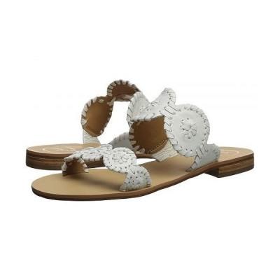 Jack Rogers ジャックロジャース レディース 女性用 シューズ 靴 サンダル Lauren - White 1