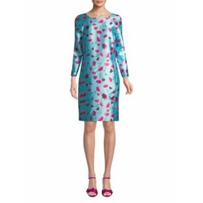 オスカーデラレンタ レディース ワンピース Silk A-Line Dress