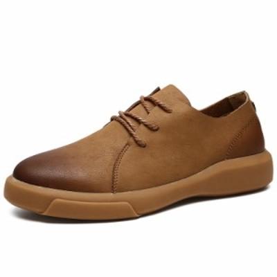 紳士靴 ビジネスシューズ 革靴 メンズ 人気 内羽根 紐 カジュアル お出かけ PU革 ビジネス フォーマル オフィス 通勤 メンズシューズ