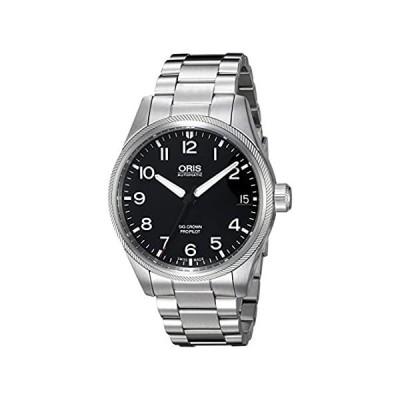 Orisメンズ' Big Crown ' Swiss AutomaticステンレススチールDress Watch ( Model : 75176974