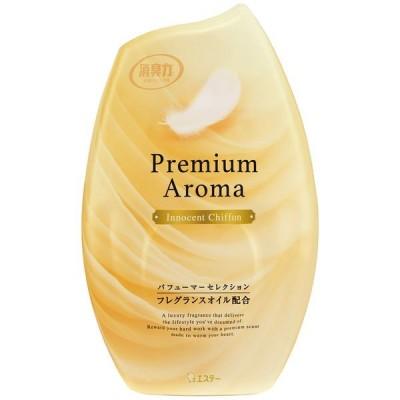 《エステー》お部屋の消臭力 プレミアムアロマ イノセントシフォンの香り 400mL