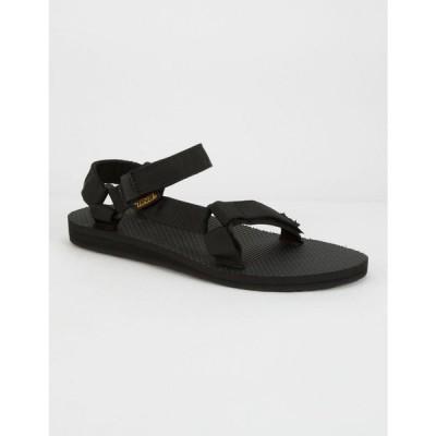 テバ TEVA レディース サンダル・ミュール シューズ・靴 Original Universal Pink Sandals BLACK