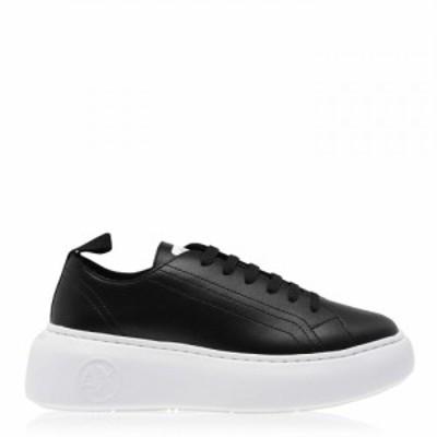 アルマーニ Armani Exchange レディース スニーカー シューズ・靴 Super Trainers Black