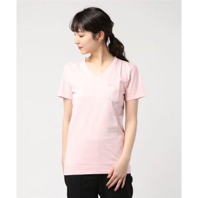 tシャツ Tシャツ 【Bl】【Bling Leads】ピグメントVネックTシャツ
