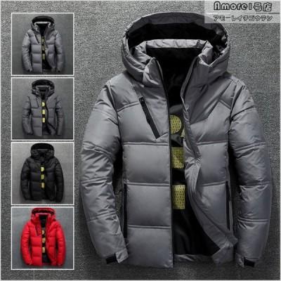 中綿コート 防寒ジャケット 中綿ジャケット メンズ アウター フード付き ブルゾン 防寒着 紳士服 あったか 保温 冬服