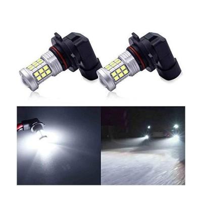 KISLED スーパーブライト 3000lm 9145 H10 LED フォグライト電球 DRL ハイパワー 3030 チップ プロジェクターレン