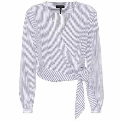 ラグandボーン Rag and Bone レディース ブラウス・シャツ トップス Prescot cotton and linen blouse Salute Strip
