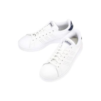 シューズ/レディース/adidas/ADVANCOURT LEA U スニーカー ホワイト/F36423