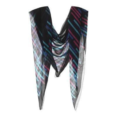 エンポリオ アルマーニ EMPORIO ARMANI スカーフ ブラック シルク 100% スカーフ