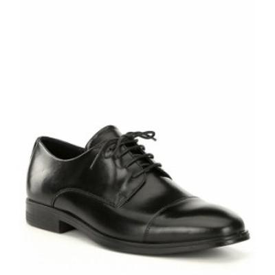 エコー メンズ ドレスシューズ シューズ Men's Melbourne Cap Toe Oxfords Black