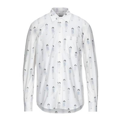 ドンダップ DONDUP シャツ ホワイト 42 コットン 100% シャツ