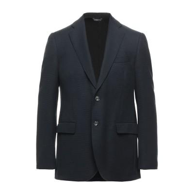 TOMBOLINI テーラードジャケット ダークブルー 54 バージンウール 100% テーラードジャケット