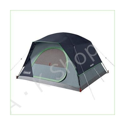 Coleman 4-Person Skydome Camping Tent, Blue--並行輸入品--