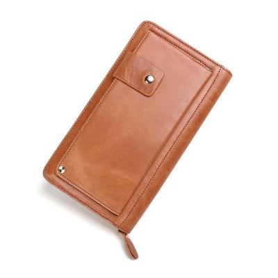 マルチキャスト メンズ 上質牛革 マルチキャスト 復古長財布 クラッチバッグ セカンドバッグ
