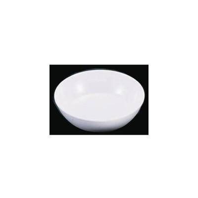 エンテック メラミン 給食用深皿 No.46B 白 RHK161B
