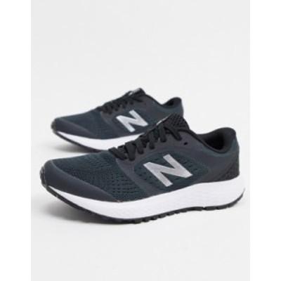 ニューバランス レディース スニーカー シューズ New Balance Running 520 trainers in black Navy