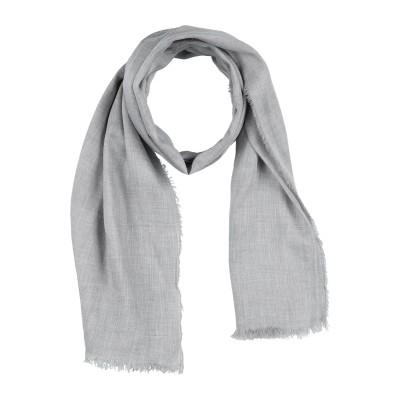 ジョルジオ アルマーニ GIORGIO ARMANI スカーフ グレー レーヨン 90% / カシミヤ 10% スカーフ