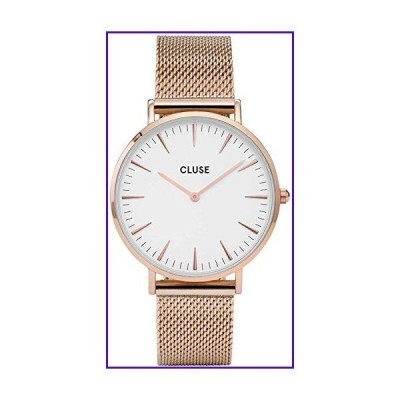 CLUSE Womens Analogue Classic Quartz Connected Wrist Watch with Stainless Steel Strap CL18112 並行輸入品