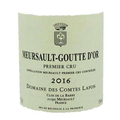 ワイン 白ワイン ムルソー グット ドール ドメーヌ コント ラフォン 2016 Meursault Goutte D'Or Barre Domaine des Comtes Lafon 750ml