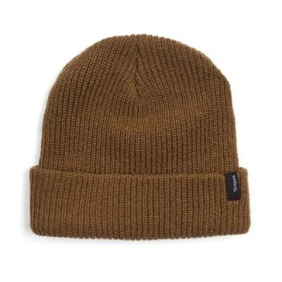 ブリクストン ニットキャップ ビーニー 帽子 キャップ コヨーテブラウン メンズ スケート BRIXTON HEIST BEANIE KNIT CAP COYOTE BROWN