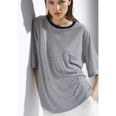 マッシモ ドゥッティ Tシャツ レディース トップス Print T-shirt - white