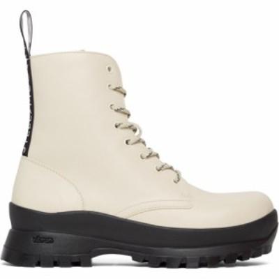 ステラ マッカートニー Stella McCartney レディース ブーツ ショートブーツ シューズ・靴 Off-White Trace Ankle Boots Ivory