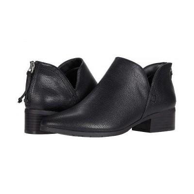 Kenneth Cole Reaction ケネスコール レディース 女性用 シューズ 靴 ブーツ アンクル ショートブーツ Side Skip - Black