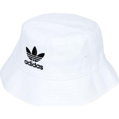 アディダス ADIDAS ORIGINALS レディース ハット バケットハット 帽子 bucket hat ac White