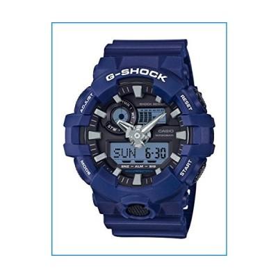 Casio Men's G Shock Quartz Watch with Resin Strap, Blue, 25.8 (Model: GA-700-2ACR)【並行輸入品】