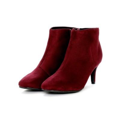 VIVIAN COLLECTION / スクエアトゥショートブーツ WOMEN シューズ > ブーツ