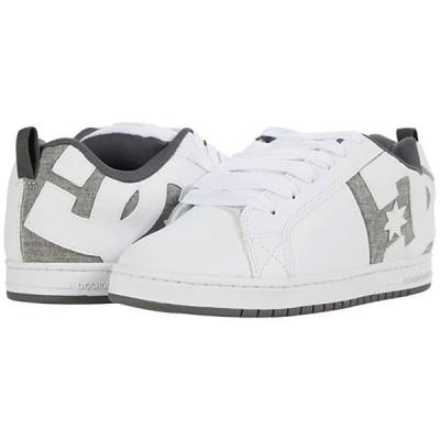 ディーシーシュー Court Graffik メンズ スニーカー 靴 シューズ White/Heather Grey