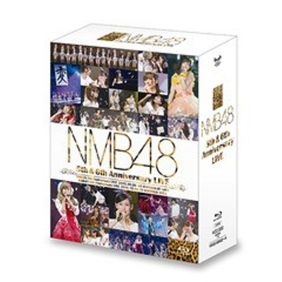 送料無料/[Blu-ray]/NMB48/NMB48 5th & 6th Anniversary LIVE/YRXS-80022