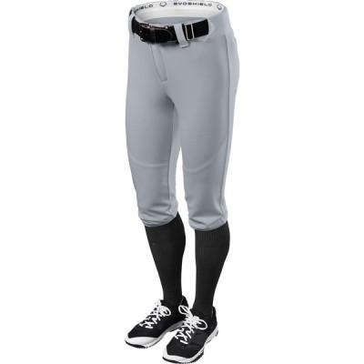 エボシールド ボトムス レディース ランニング EvoShield Women's FX Low Rise Softball Pants Blue Grey