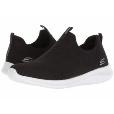 SKECHERS スケッチャーズ レディース 女性用 シューズ 靴 スニーカー 運動靴 Ultra Flex First Take Black/White【送料無料】