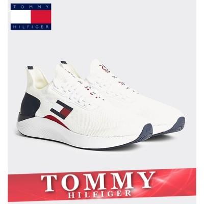トミーヒルフィガー スニーカー シューズ メンズ ライトウェイト トラック ロゴ 靴 新作 TOMMY