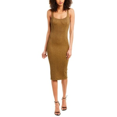 カプレット ワンピース トップス レディース Capulet Bustier Midi Dress brown speckle
