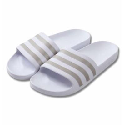 大きいサイズ メンズ adidas サンダル ADILETTE AQUA フットウェアホワイト 1240-0267-1 29.5 30.5 31.5