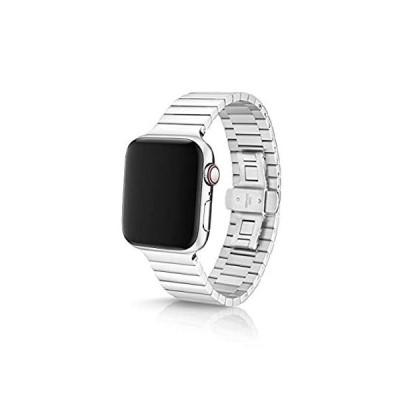 特別価格JUUK 42/44mm Revo 光沢プレミアム腕時計バンド Apple Watch用 サージカルグレード 316L ソリッドステンレススチール 3好評販売中